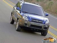 Бампер передний  на  Hyundai Tucson (Хюндай Туксон) 2004-2009