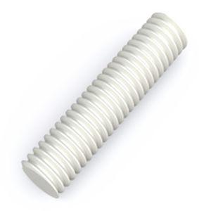 Шпилька резьбовая полиамидная (нейлоновая) PA6 М5 DIN 975
