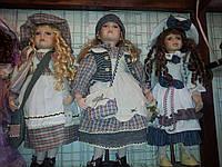 Коллекционные фарфоровая кукла