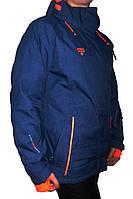 Женский горнолыжная куртка Avecs, темно-синяя P. M, L, XL