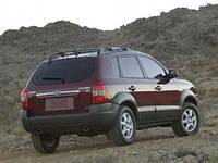 Бампер задний  на  Hyundai Tucson (Хюндай Туксон) 2004-2009