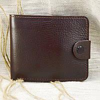 Кожаное портмоне П3-09 (темно-коричневый)