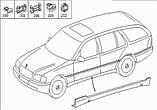 Клипса крепления порога Mercedes W202, W203, W208, W210, W220  ОЕМ: A0099884178, фото 3