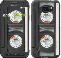 "Чехол на Samsung Galaxy S6 active G890 Кассета ""876u-331"""