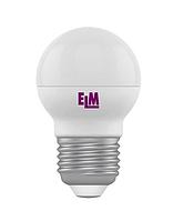 Лампа светодиодная D45 6W Е27 4000К 500 Lm ELM
