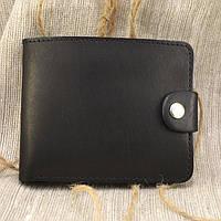 Кожаное портмоне П3-01 (черный матовый)
