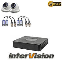 Комплект видеонаблюдения KIT-DOME 241 Intervision