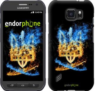 "Чехол на Samsung Galaxy S6 active G890 Герб ""1635u-331"""