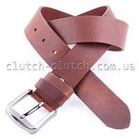 Ремень для джинсов LMi 40 мм коричневый