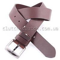 Ремень для джинсов LMi 40 мм темно-коричневый