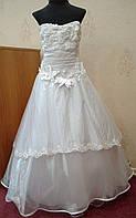 NEW!!! Нежное белое детское платье на 8-12 лет