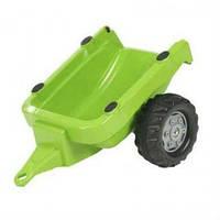 Прицеп 2-х колесный Rolly Toys Kid Trailer зеленый