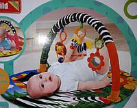 Развивающий коврик зебра