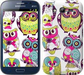 "Чехол на Samsung Galaxy Grand Neo I9060 Совы ""1805c-112"""