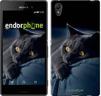 "Чехол на Sony Xperia XA Дымчатый кот ""825c-399"""