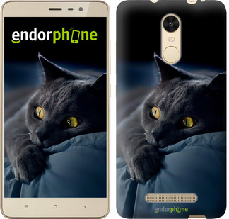 "Чехол на Xiaomi Redmi Note 4 Дымчатый кот ""825c-352"""