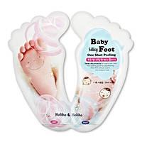 Holika Holika Baby Silky Foot One Shot peeling Пилинг-носочки
