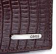 Стильне чоловіче портмоне зі шкіри під крокодила GRASS SHI325-33, фото 5