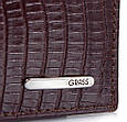 Стильное мужское портмоне из кожи под крокодила GRASS SHI325-33, фото 5