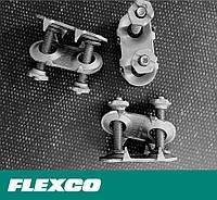 Flexco 1E Bolt Solid Plate. Механические болтовые неразъемные соединения Flexco для стыковки лент 5-11 мм