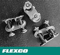 Замки Flexco 140E. Flexco Bolt Solid Plate 140. Механические болтовые соединения для лент шириной 5-11 мм