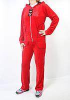 Женский брендовый спортивный костюм - Apple - (красный  547
