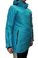 Женский горнолыжная куртка Avecs, бирюза