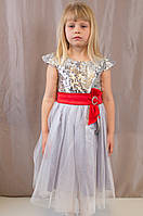 Детское праздничное красивое платье c сумочкой