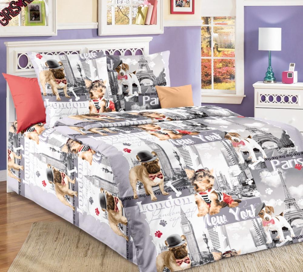 Постельное белье в детскую кроватку Евротур  (бязь ГОСТ)