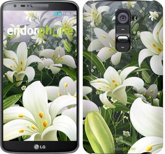 "Чехол на LG Ray / X190 Белые лилии ""2686u-244"""