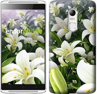 """Чехол на Motorola Moto G3 Белые лилии """"2686u-318"""""""