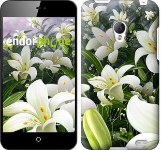 """Чехол на Motorola Moto G Белые лилии """"2686u-366"""""""