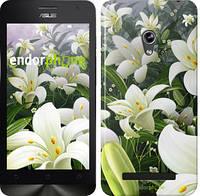 """Чехол на Asus ZenFone Go ZC451TG Белые лилии """"2686u-276"""""""