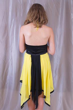 Оригінальна жіноча молодіжна вечірня сукня, фото 3