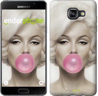 "Чехол на Samsung Galaxy A5 (2016) A510F Мэрлин Монро ""1833c-158"""