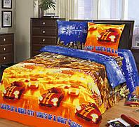 Подростковый комплект постельного белья Огни большого города, бязь ГОСТ
