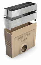 Рама ревизионная оцинкованная 50см, C250, для канала ACO Gala