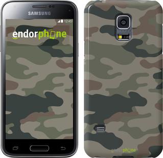 "Чехол на Samsung Galaxy S5 mini G800H Камуфляж v3 ""1097c-44"""