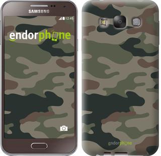 """Чехол на Samsung Galaxy E7 E700H Камуфляж v3 """"1097u-139"""""""