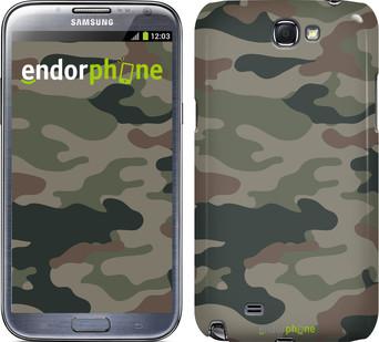 "Чехол на Samsung Galaxy Note i9220 Камуфляж v3 ""1097u-316"""