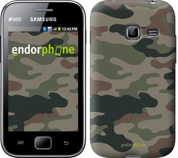 "Чехол на Samsung Galaxy Ace Duos S6802 Камуфляж v3 ""1097u-253"""