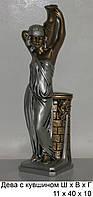 Статуэтка из гипса Дева с кувшином маленькая