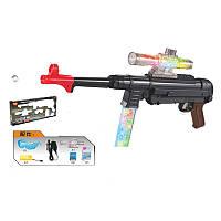 Детский Автомат MP40A (копия Шмайсера), стреляет гелевыми (водяными) пулями, на акамуляторе