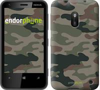 "Чехол на Nokia Lumia 620 Камуфляж v3 ""1097u-249"""
