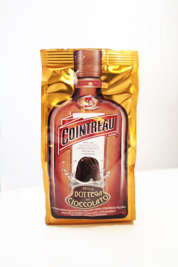 Шоколадные конфеты с ликером контрю Antica Botega del Cioccolato, 100 гр.