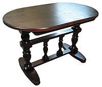 """Обеденный стол из дерева """"Атлант"""" овальный 1400(1900) х 850, фото 1"""