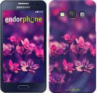 """Чехол на Samsung Galaxy A3 A300H Пурпурные цветы """"2719c-72"""""""