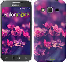 """Чехол на Samsung Galaxy Core Prime G360H Пурпурные цветы """"2719c-76"""""""