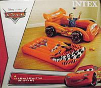 """Intex Интекс  48667 Игровой центр-кровать +10 шариков """"ТАЧКИ"""""""