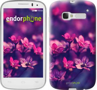 """Чехол на ALCATEL One Touch Pop C5 5036D Пурпурные цветы """"2719u-324"""""""